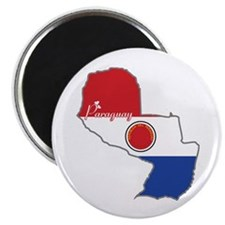 """Cool Paraguay 2.25"""" Magnet (10 pack)"""