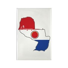 Cool Paraguay Rectangle Magnet
