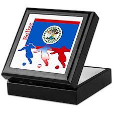 Belize Soccer Keepsake Box
