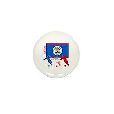Belize Soccer Mini Button (100 pack)