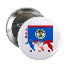 "Belize Soccer 2.25"" Button (100 pack)"