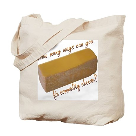 Commodity Cheese Bags & Totes | Personalized Commodity Cheese ...