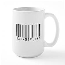 Hairstylist Barcode Mug