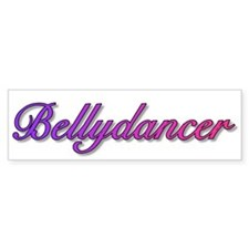 Bellydancer (color) Bumper Bumper Sticker