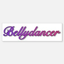 Bellydancer (color) Bumper Car Car Sticker