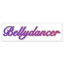 Bellydancer (color) Bumper Car Sticker