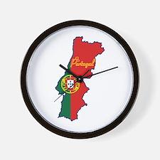 Cool Portugal Wall Clock