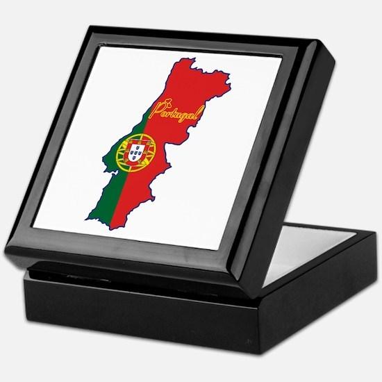 Cool Portugal Keepsake Box