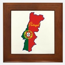 Cool Portugal Framed Tile