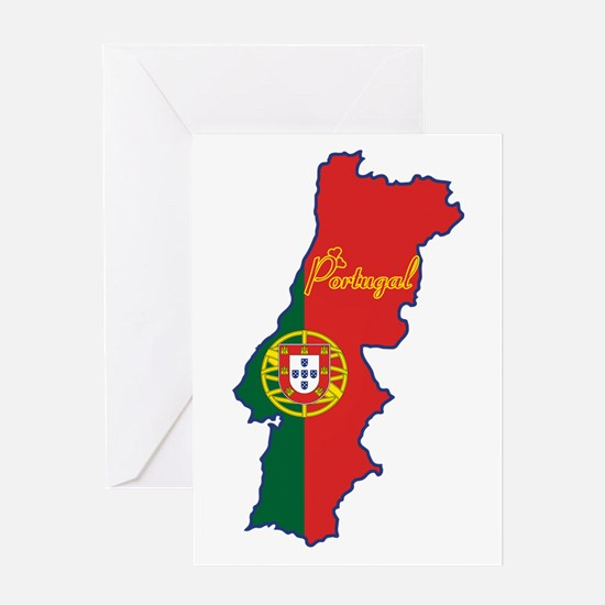 Cool Portugal Greeting Card
