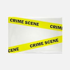 Crime Scene Rectangle Magnet
