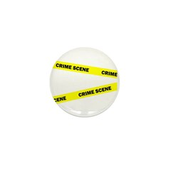 Crime Scene Mini Button (100 pack)