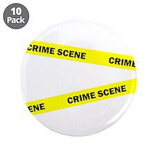 """Crime Scene 3.5"""" Button (10 pack)"""