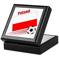 Poland Soccer Team Keepsake Box