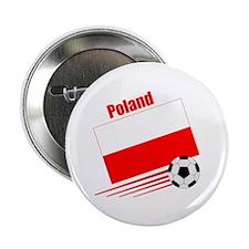 "Poland Soccer Team 2.25"" Button (10 pack)"