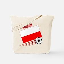 Poland Soccer Team Tote Bag