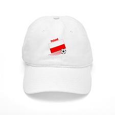 Poland Soccer Team Baseball Cap