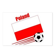 Poland Soccer Team Postcards (Package of 8)