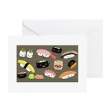 Japanese food Greeting Cards (20 Pack)