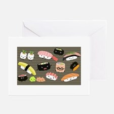 sushitoiletry Greeting Cards