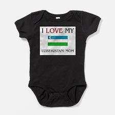 I Love My Uzbekistani Mom Body Suit