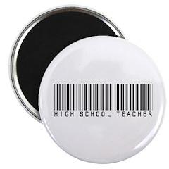 High School Teacher Barcode 2.25