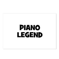 Piano legend Postcards (Package of 8)