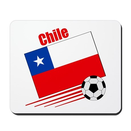 Chile Soccer Team Mousepad