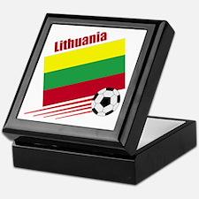 Lithuania Soccer Team Keepsake Box