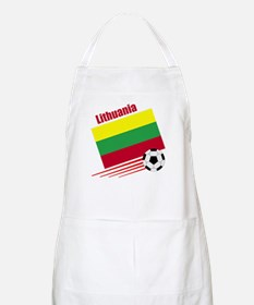Lithuania Soccer Team BBQ Apron