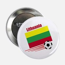 "Lithuania Soccer Team 2.25"" Button (10 pack)"