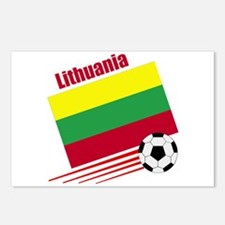 Lithuania Soccer Team Postcards (Package of 8)