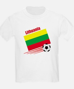 Lithuania Soccer Team T-Shirt