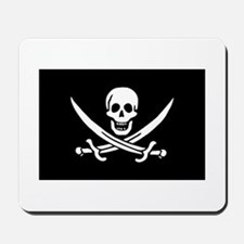 Pirate Mousepad - Calico Jack Flag