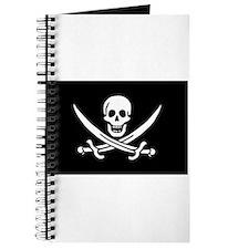 Pirate Journal - Calico Jack Flag