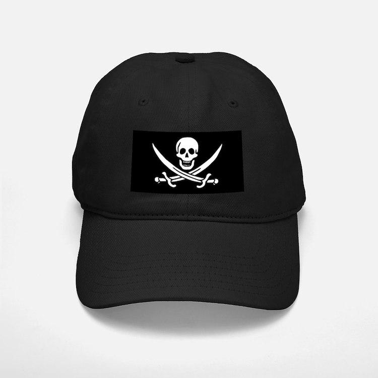 Calico Jack Rackham Pirate Flag Baseball Hat