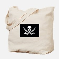 Calico Jack Rackham Pirate Flag Tote Bag