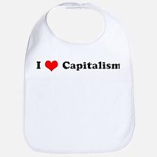 I Love Capitalism  Bib