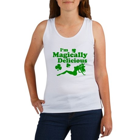 Magically Delicious Mudflap Women's Tank Top