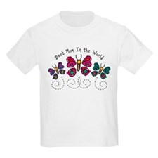Butterfly Best Mom T-Shirt