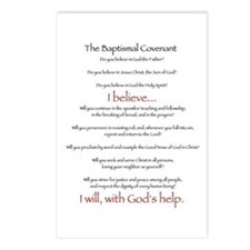Baptismal Covenant Postcards (Package of 8)