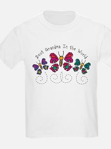 Butterfly Best Grandma T-Shirt