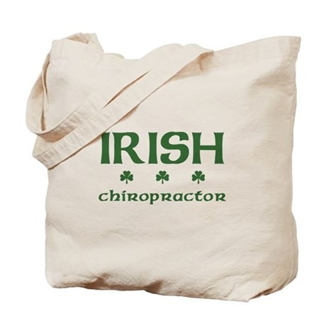 Irish Chiropractor Tote Bag