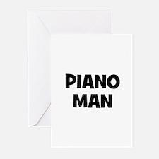 Piano man Greeting Cards (Pk of 10)