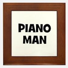 Piano man Framed Tile