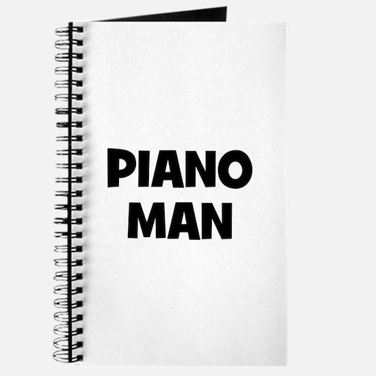 Piano man Journal