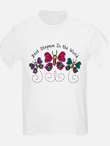 Butterfly Best Stepmom T-Shirt