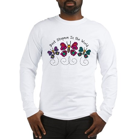 Butterfly Best Stepmom Long Sleeve T-Shirt
