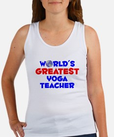 World's Greatest Yoga .. (A) Women's Tank Top