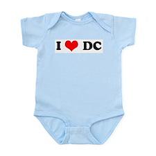 I Love D.C. Infant Creeper